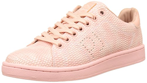 Pepe Jeans London New Club Monocrome, Zapatillas para Mujer Rosa (Face)