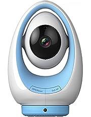 Foscam Fosbaby P1 - Vigilabebés para interior, función P2P, 720p, WiFi, color azul