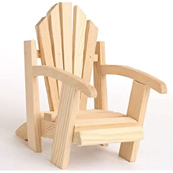 Amazon  Set of  - Miniature Adirondack Chairs for Your Fairy