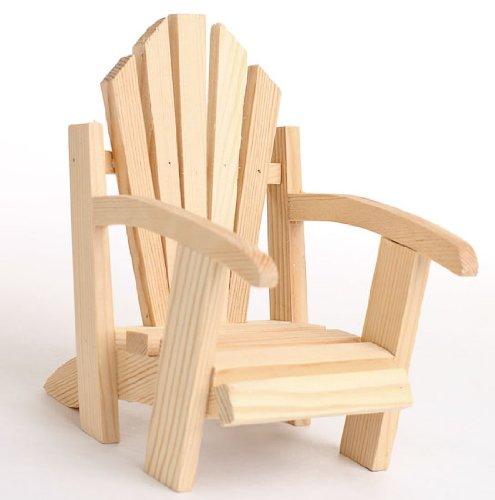 DARICE Slat Wood Chair