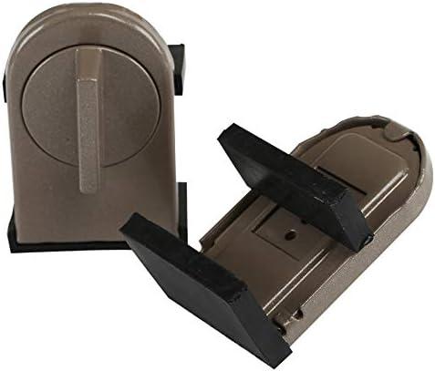 Kesote 2 Bloques de Metal para Ventana Ajustable Bloques de ...