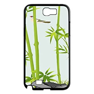 Bamboo Use Your Own Image Phone Case for Samsung Galaxy Note 2 N7100,customized case cover ygtg-334345