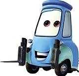 6 Inch Guido Forklift Casa Della Tires Walt Disney Pixar Cars 2 Movie Removable Wall Decal Sticker Art Home Racing Decor