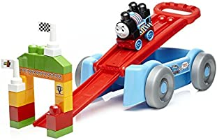 Save on Mega Bloks Thomas & Friends Racin' Railway Wagon Building Set