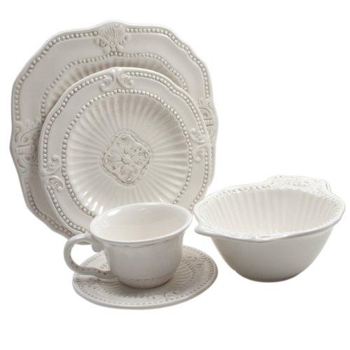 American Atelier 20-piece Baroque Dinnerware Set
