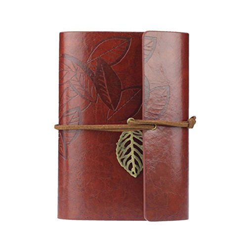 Tinksky Notebook Journal Vintage Loose leaf