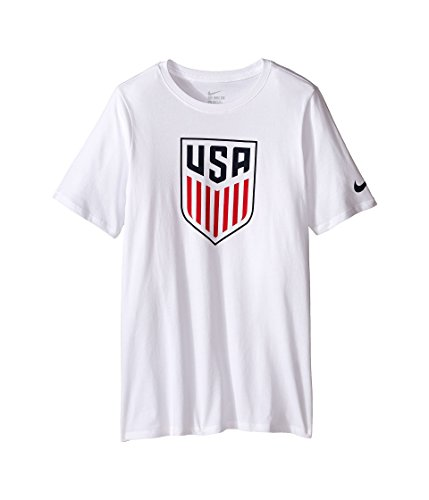 Nike Youth USA Crest T-Shirt (White) (X Small) -
