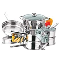 Kitchen Corner 7 PC Stainless Steel Cookware Set