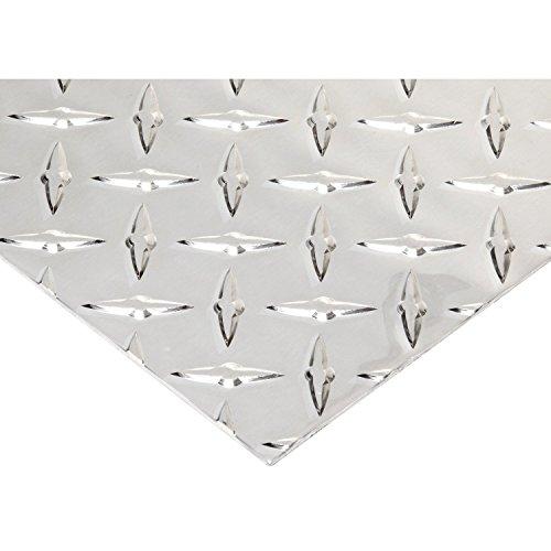 RMP .063 3003 H22 Aluminum Diamond Tread Sheet, 12