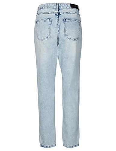 Bleu Jeans Light Femme Desires Destroy wfxqBHOEBU