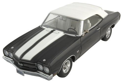 Exact Detail Replicas 1970 Chevelle LS6 Convertible with White Interior, Limited Edition 1/18th Scale Die Cast