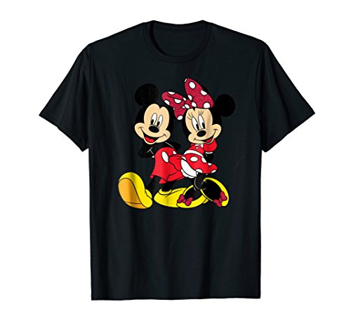Mouse T-shirt - Disney Mickey and Minnie Big Mouse T-shirt