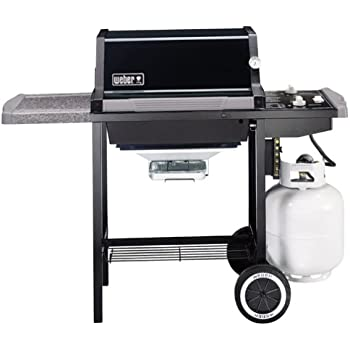 weber 2271001 genesis silver a propane gas grill black garden outdoor. Black Bedroom Furniture Sets. Home Design Ideas