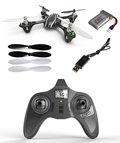 HobbyFlip RTF with Transmitter Mini Quad Rotor UFO Ready to Fly for Hubsan X4 H107L