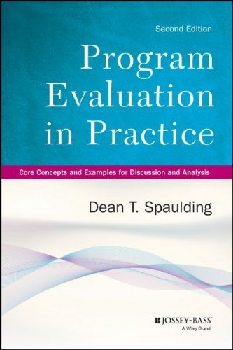 By Dean T. Spaulding - Program Evaluation in Practice: Core Concepts and Examples for Di (2nd Edition) (2013-12-31) [Paperback]