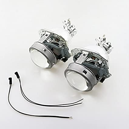 autoki 3.0 inch evox-r bi-xenón HID lente del proyector lunares ...