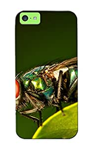 Zeetriodecol New Arrival YWWEzhW1448FbjFL Premium Iphone 5c Case(common Green Bottle Fly)