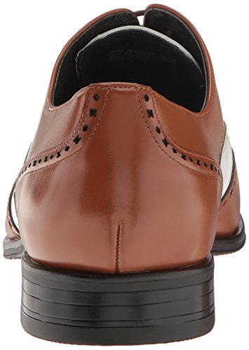 Stacy Adams Men's Stockwell-Wingtip Oxford Cognac/White free shipping for cheap SVCBCo7uu