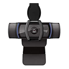 From the manufacturer Logitech C920S Pro HD Webcam Chat and Record Like A Pro Call, stream, blog and record in polished, professional Full HD video and audio. With spectacular HD 1080p video quality, dual built in mics and advanced video capt...
