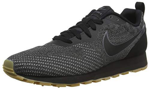 2 Md Sneakers Eng Black Black Schwarz Runner Grey 001 Dark Damen Mesh NIKE tYxqwf5IY