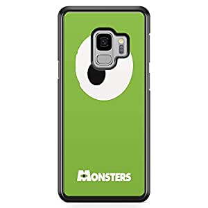Loud Universe Mike Eye Monster University Samsung S9 Case Green Monsters Samsung S9 Cover with Transparent Edges