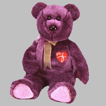Image Unavailable. Image not available for. Color  1 X TY Beanie Buddy - 2000  SIGNATURE BEAR 08229a62ec5
