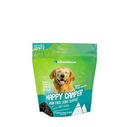 A Breed Above: Happy Camper Run Free Joint Supplement, 30 Count Review