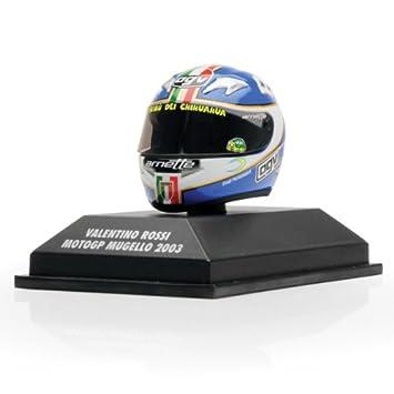 CASCO AGV DE VALENTINO ROSSI MOTO GP MUGELLO03