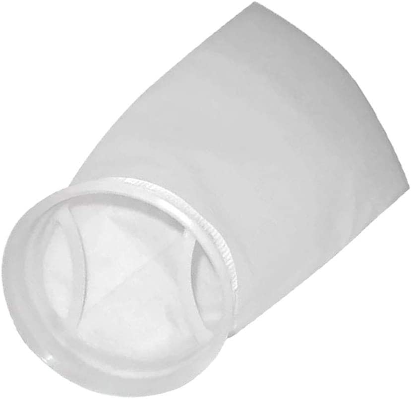 200 Micron Rating Finest-Filters Long Felt Filter Sock with 7 Welded Ring