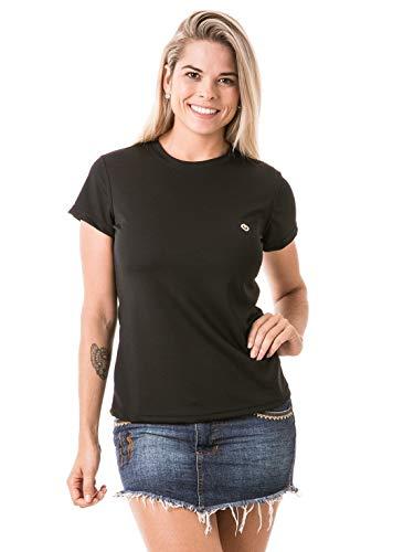 Camiseta Feminina Com Proteção Solar Manga Curta Extreme Uv Dry