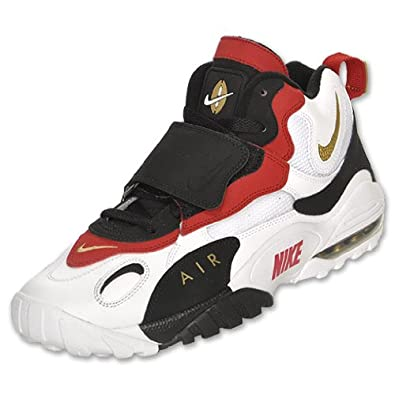 2db87a7306 ... shopping nike mens air max speed turf cross training shoes white black  red f4ac3 4c3e2
