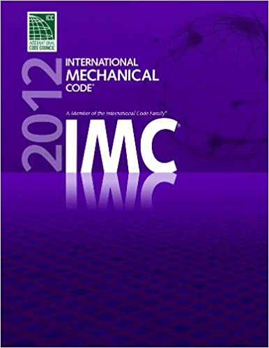 2012 International Mechanical Code (International Code