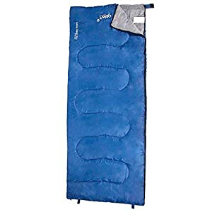 Gelert Hebog Rectangular Sleeping Bag Blue ONESIZE