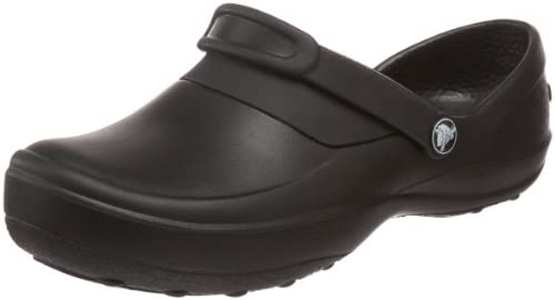 crocs Women's Mercy Clog, Black/Black