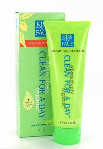 Kiss My Face Creamy Face Cleanser - 9