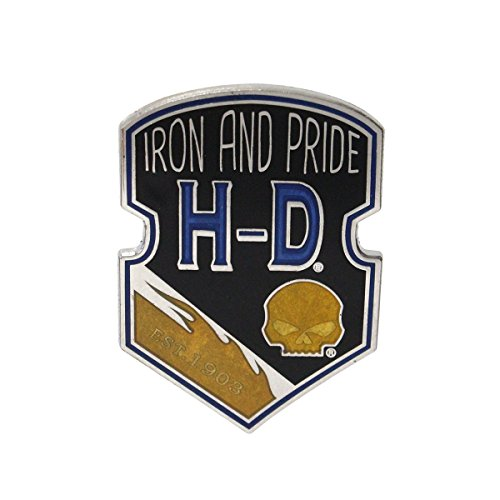 Harley-Davidson Iron & Pride Willie G Skull Pin