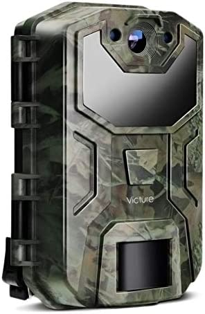 Victure Trail Game Camera 20MP 1080P Full HD with Night Vision Motion Activated IP66 Waterproof Hunting Camera for Wildlife Monitoring