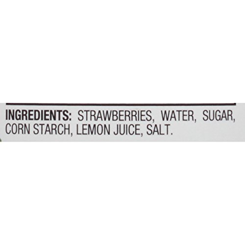 Comstock Simply Pie Filling & Topping, Strawberry, 21 Ounce (Pack of 8) by Comstock (Image #4)