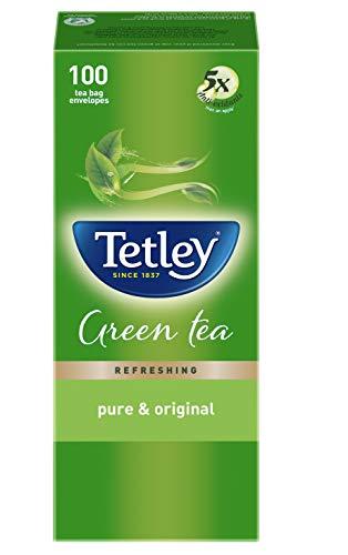 Tetley Green Tea immune with added Vitamin C, Classic, 100 Tea Bags