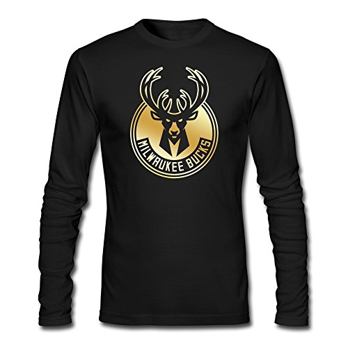 mens-milwaukee-logo-bucks-gold-collection-tshirts-long-sleeve-black