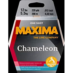 Maxima ONE Shot 6LB Chameleon 6 Lb, Brown, 230m