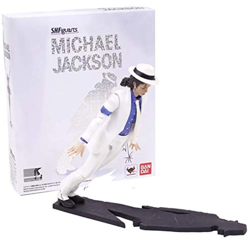 PAPCOOL Michael Jackson Figure 6 inch Hot Toys King of Pop Moonwalk Mini Small Model Toy Singer Action Figures Christmas Halloween Collection Collectable Gift Collectible Collectibles Gifts for Kids for $<!--$37.91-->
