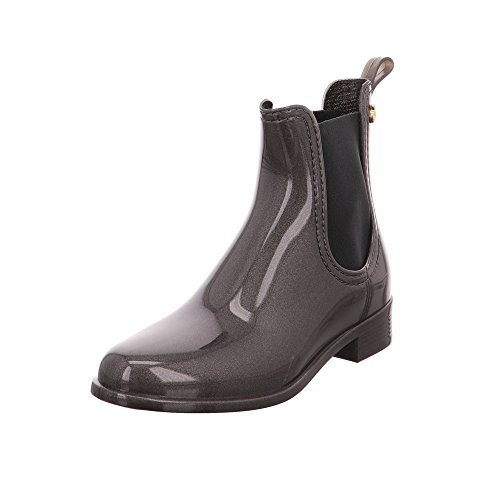 Gelatina Di Limone Damen Comfy Chelsea Boots Grau
