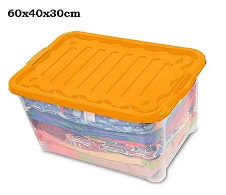 12/Unidades 60/x 40/x 30/cm Naranja House/&Style Vulcano Box Storage Extragrande
