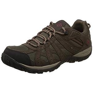 Columbia Men's REDMOND WATERPROOF Hiking Shoe, Mud, Garnet Red, 10 D US