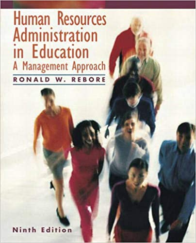 Human Resources Administration in Education: A Management