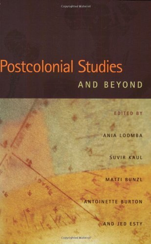 Postcolonial Studies and Beyond: 1st (First) Edition