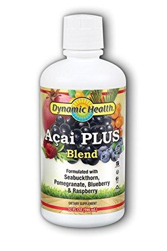 Organic Acai Juice Blend Dynamic Health 32 oz Liquid ()