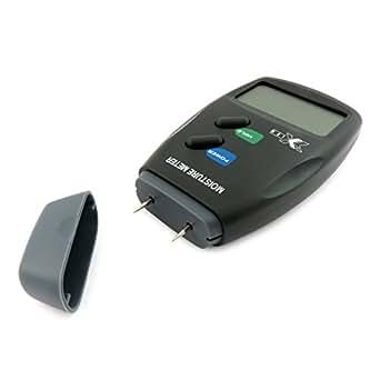 Medidor de humedad ixium en paredes de yeso o madera con estuche y pila de 9 v - Detector de humedad para suelos y paredes ...
