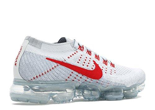 Nike Wmns Air Vapormax Flyknit - 849557-060 Pure Platinum / University Red
